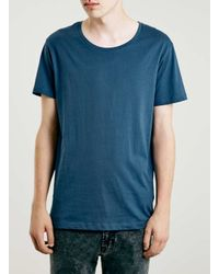 SELECTED | Blue T-shirt for Men | Lyst