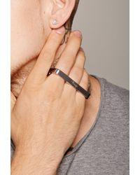 Forever 21 - Metallic Vitaly Triplo Ring for Men - Lyst