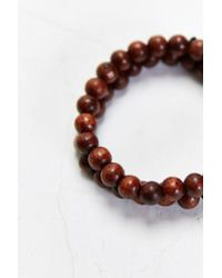 Urban Outfitters | Double Brown Beaded Bracelet for Men | Lyst