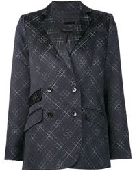 Wes Gordon - Black Printed Jacket - Lyst