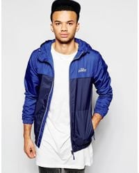 Tokyo Laundry - Blue Hooded Panel Jacket for Men - Lyst