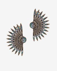 Lulu Frost | Blue Beacon Crystal Earrings | Lyst