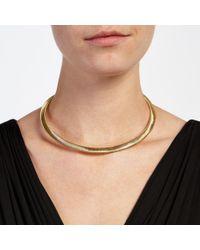 John Lewis - Metallic Mini Flex Collar Necklace - Lyst