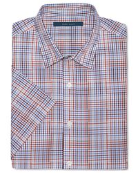 Perry Ellis - Red Multi-Plaid Shirt for Men - Lyst