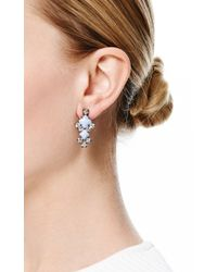 Tom Binns | Blue Neopolitano Geometric Drop Earrings | Lyst