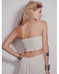 Free People - Metallic Womens Serenity Body Chain - Lyst