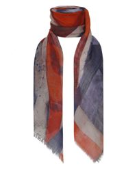 Vivienne Westwood - Red Vintage Union Jack Scarf - Lyst