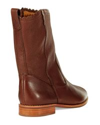 Jack Rogers   Brown Carly Ankle Boots   Lyst