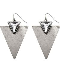 Jenny Bird | Metallic Shields Up Earrings | Lyst