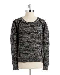 T Tahari | Black Laney Sweater | Lyst