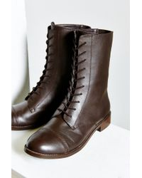 Urban Outfitters | Brown Louis Mid Lace-up Boot | Lyst