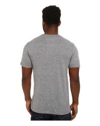 Hurley | Gray Icon Push Through Tri-blend Tee for Men | Lyst
