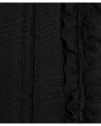 Comme des Garçons - Black Ruffle Side Harem Trousers - Lyst