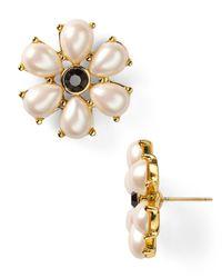 kate spade new york - Natural Lady Antoinette Stud Earrings - Lyst