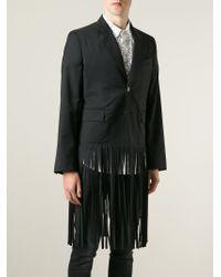 Vivienne Westwood | Black Fringed Blazer for Men | Lyst