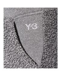 Y-3 - Black Cotton Track Pants - Lyst