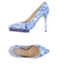 Charlotte Olympia - Blue Court - Lyst