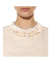 By Malene Birger - Natural Rarina Seashell Necklace - Lyst