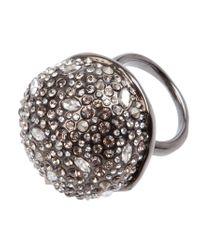 Alexis Bittar | Metallic Crystal Studded Ring | Lyst
