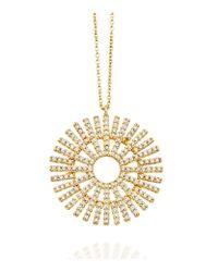 Astley Clarke | Metallic Large Rising Sun Pendant | Lyst