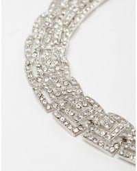 Coast | Metallic Deco Necklace | Lyst