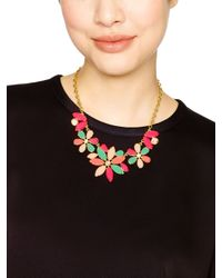 kate spade new york - Multicolor Gardens Of Paris Statement Necklace - Lyst