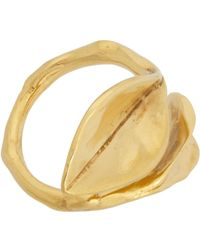 Aurelie Bidermann | Metallic Monteroso Wraparound Ring | Lyst