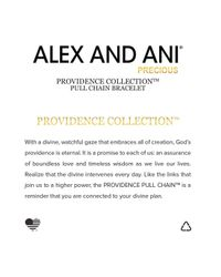 ALEX AND ANI - Metallic Precious Metals Evil Eye Heart Pull Chain Bracelet - Lyst
