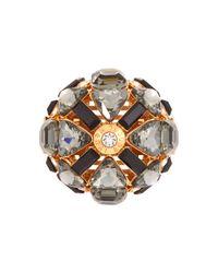 Henri Bendel | Metallic Windsor Deb Ring | Lyst