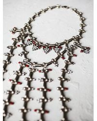 Free People | Metallic Dannijo Womens Philo Statement Necklace | Lyst