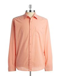 Guess | Orange Douglas Oxford Shirt for Men | Lyst