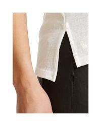 Polo Ralph Lauren - White Cotton Jersey V-neck Tee - Lyst