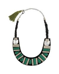 Virzi+de Luca | Green Necklace | Lyst