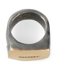 Rosa Maria | Metallic 'lulu' Ring | Lyst