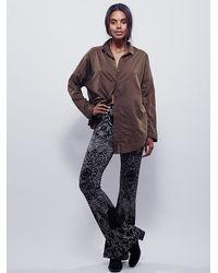 Free People - Black Womens Rising Sun Sweater Flare - Lyst