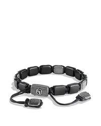 David Yurman | Gray Sky Large Tile Bracelet for Men | Lyst