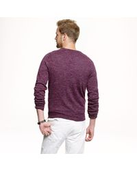 J.Crew - Purple Slim Sedona Sweater for Men - Lyst