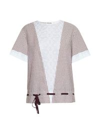 See By Chloé | Multicolor Striped Cotton-Poplin Top | Lyst