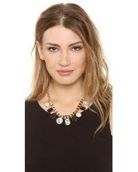 kate spade new york | Black Boardwalk Stroll Short Necklace | Lyst
