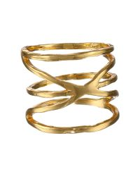 Gorjana | Metallic Isla Ring | Lyst