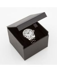 Paul Smith - Metallic Men's White And Silver 'tempo' Watch for Men - Lyst