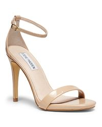Steve Madden | Natural Stecy Strappy Sandals | Lyst