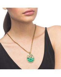Lulu Frost - Metallic Pond Medallion Necklace - Lyst