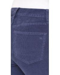 Madewell - Blue Flea Market Corduroy Flare Pants - Lyst