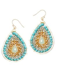 Nakamol - Multicolor Luminance Earrings-turquoise - Lyst