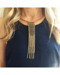 Jenny Bird | Metallic Asus Collar | Lyst