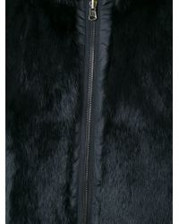 P.A.R.O.S.H.   Black Reversible Zipped Up Parka   Lyst