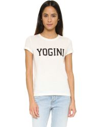 Spiritual Gangster - Natural Yogini Vintage Gym Tee - Lyst