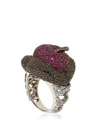 Lydia Courteille | Red Erotic Ruby Ring | Lyst