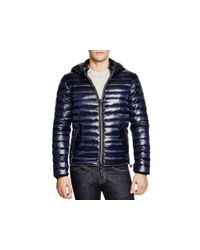 Duvetica - Blue Troilo Hooded Down Jacket for Men - Lyst